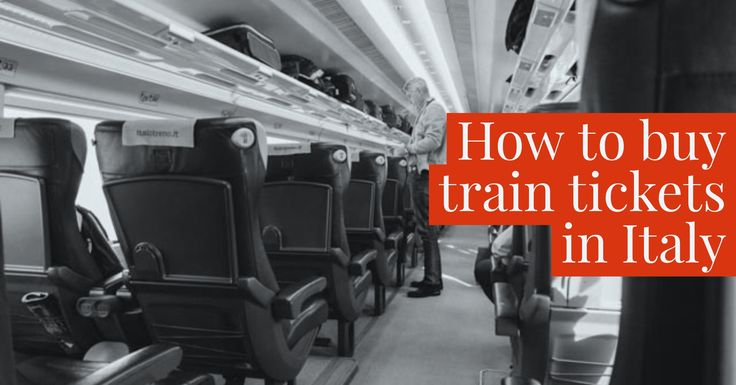 Your guide to the websites, ticket counters and private shops that can help you book your Italian train travel.