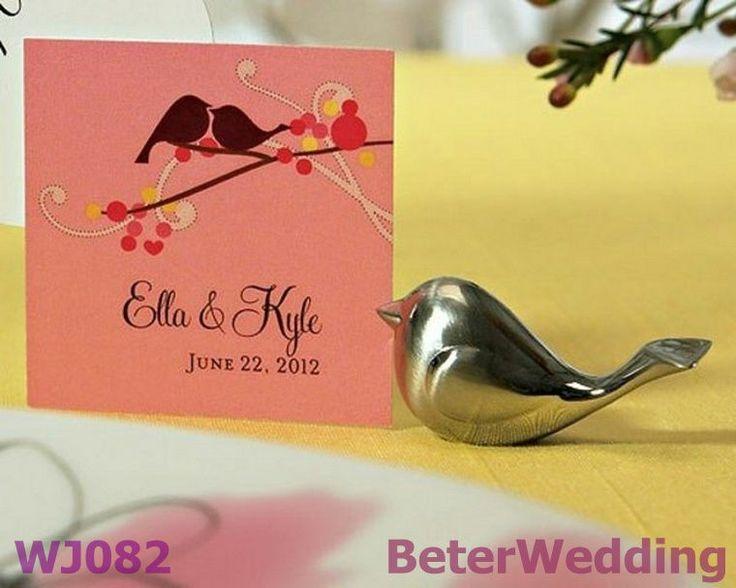 love bird wedding place card holders wj082 wedding