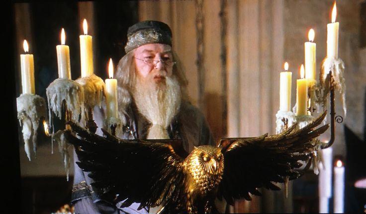 Dumbledore's podium from Order of the Phoenix