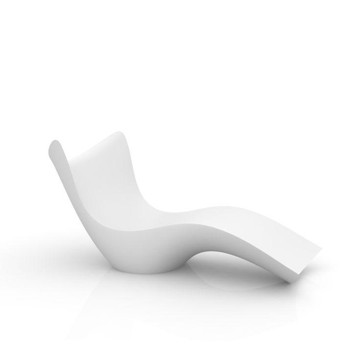 Vondom SURF Sonnenliege Steht Für Hochwertiges Design Aus Polyethylen. SURF  Sonnenliege Besticht Durch Schlichte, Natürliche Schönheit.
