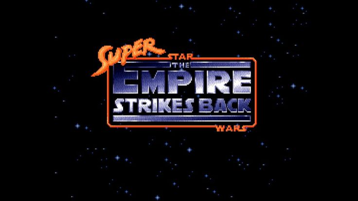 Failed at Playing Super Star Wars The Empire Strikes Back (SNES)