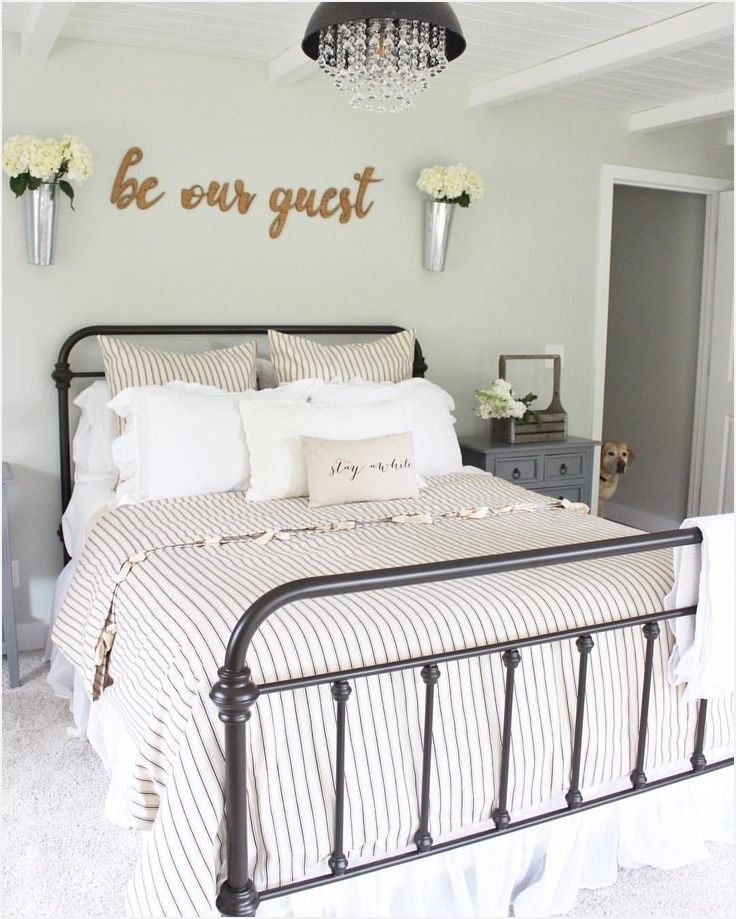10 Must Haves For A Cozy Guest Room Refresh Restyle Cozy Guest Rooms Guest Room Decor Guest Bedroom Decor