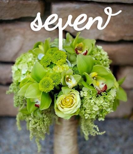 Wedding Table Numbers for Every Wedding Theme