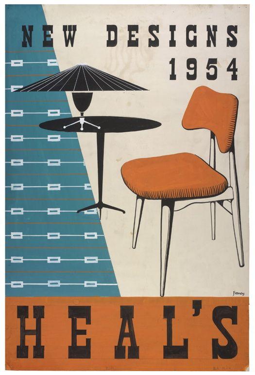Heal's 1954. @designerwallace