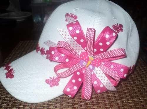 Modelo de lazos en gorras!