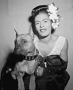 Another of Billie Holiday and Mister
