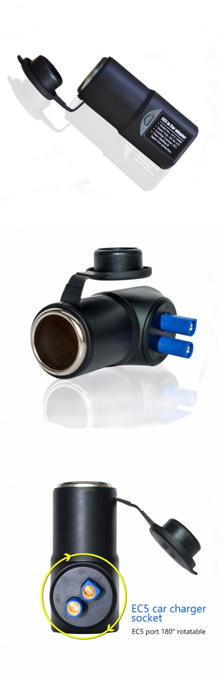 High Quality Car Jump Starter Accessory 12V EC5 Car Cigarette Lighter Socket Charge For Car Camera And Car Refrigerator