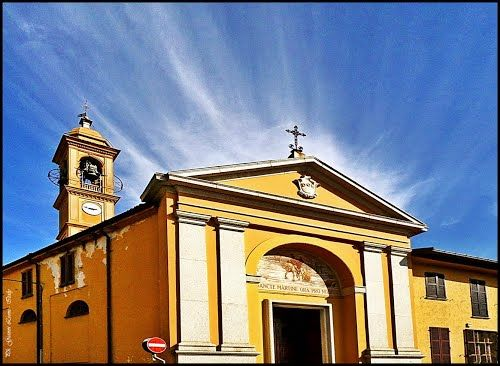 ITALIA - Carate Brianza (MB). Loc: Costa Lambro; chiesa di San Martino.  -    St. Martin's Church.