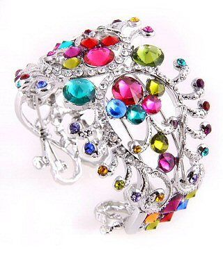 These 25+ Multicolor Jewels Will Live Up Your Outfit And Uplift Your Mood As Well  - Jewelry Set is one of the biggest wish of every women. Due to increasing prices of gold, it is going to be more complicated to afford the Gold Jewelle... -  fpk13nov2010-7 .