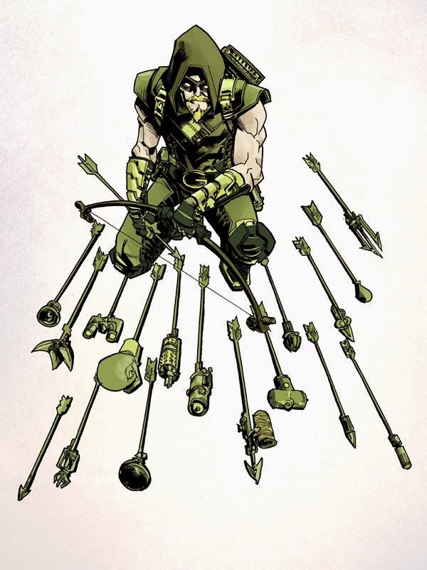 Green Arrow's trick arrows.