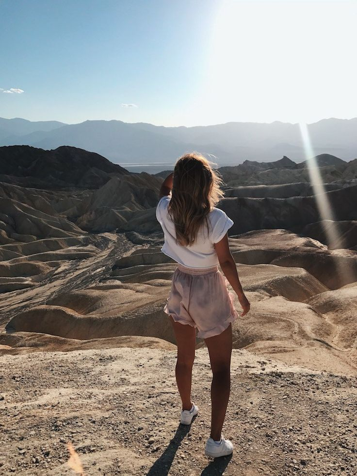Death Valley Zabriskie Point USA