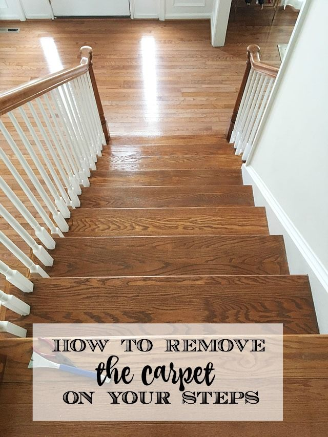 Removing Laminate Flooring how to remove carpeting and install laminate flooring How To Remove The Carpet From Your Stairs