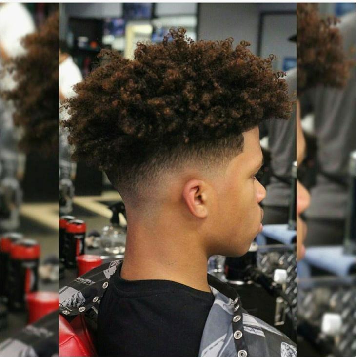 Afro Curly Hair Boys Black In 2020 Curly Hair Styles Curly Hair Men Boys Haircuts