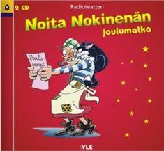 Noita Nokinenän joulumatka (2 kuunnelma-cd) (CD)