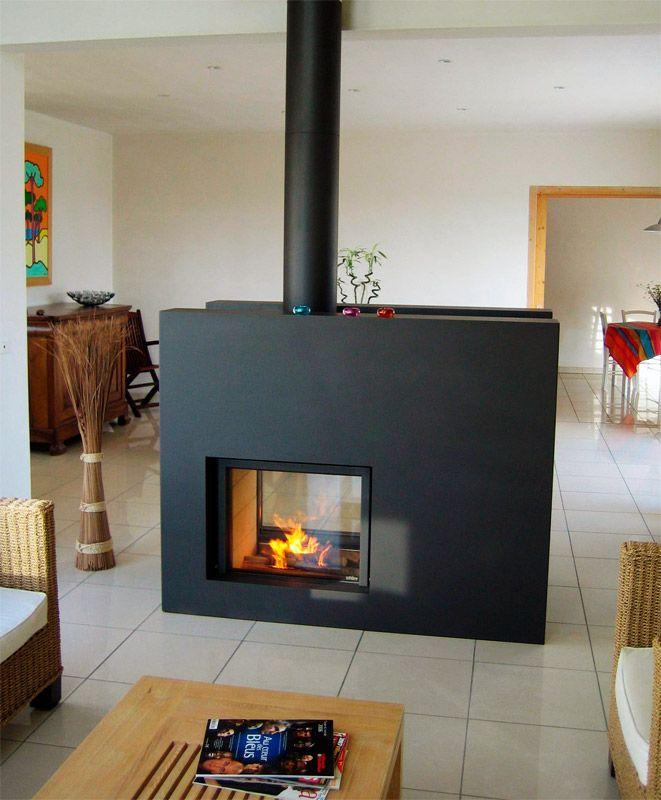 The 25+ best Double fireplace ideas on Pinterest | Double sided ...