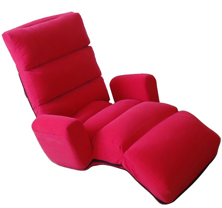 Lounge Chairs Lazy Floor Seating Furniture Living Room Armchair Fabric Folding Day Bed 5 Colors Contemporary