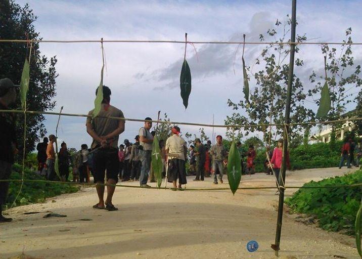 Ritual Hinting Pali Menuntut Penyelesaian Konflik Tanah Masyarakat vs Perusahaan Sawit