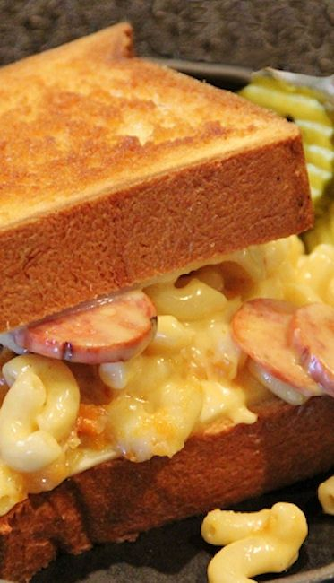 Grilled Macaroni & Cheese Sandwiches | Recipe
