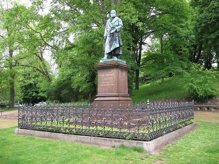 Statue of C. F. Gauss in Braunschweig.