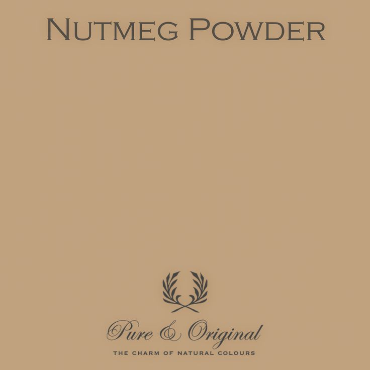 Color Nutmeg Powder - available in Kalkverf, Krijtverf, Lime paint, Chalk paint, Kritt maling, Kalk maling, Kreide Farbe, Kalk Farbe, Floorpaint, Vloerverf and much more. Colored with 100% mineral pigments.