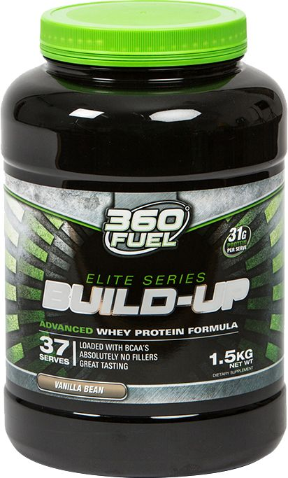 360 Build-Up combines ISO Whey Protein and WPC (Whey Protein Concentrate), rich sources of amino acids that are essential for muscle growth. Buy online now from 360fuel.com.au #buildabetterbody #360fuel #australian #fitness #supplements