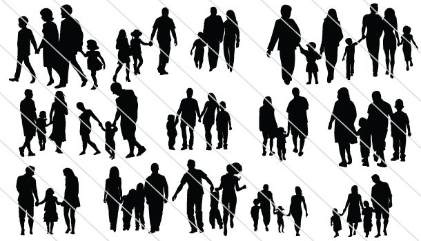 Family Silhouettes (21)