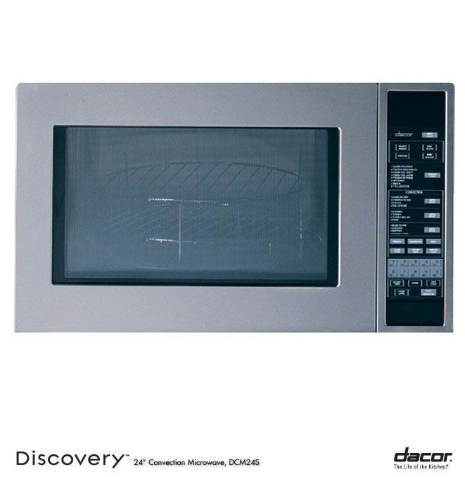 Dacor DCM24S Built In Microwave Oven, in Stainless Steel