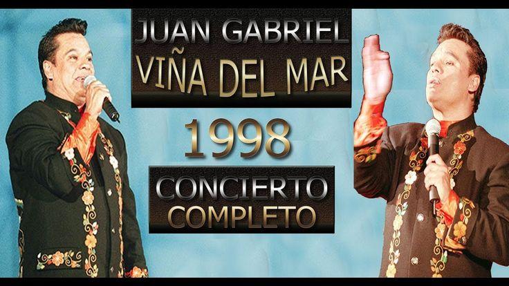 Juan Gabriel en Viña del Mar 1998   Concierto Completo