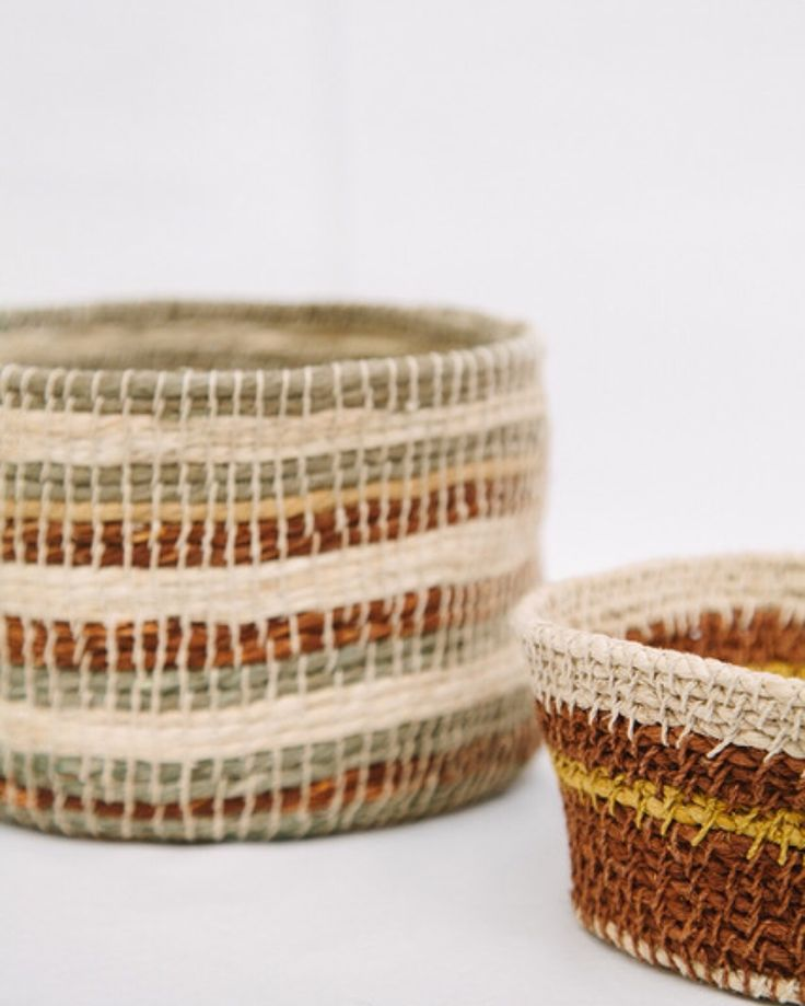 Pampa baskets, new collection!