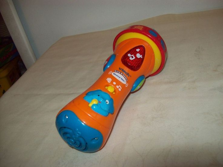 Vtech Sing & Learn Musical Mic Boy/Girl Electronic Toy Works 3 Months #VTech