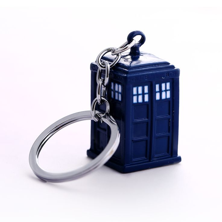 Doctor Who Key Chain TARDIS Key Rings For Gift Chaveiro Car Keychain Jewelry Movie Key Holder Souvenir YS11116
