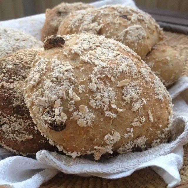 Havrefrallor med russin (gluten-, mjölk-, ägg-fria) – Nilla's Kitchen
