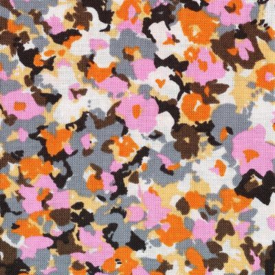 Dagmar Dasha Pink, Orange & Chocolate Remnant