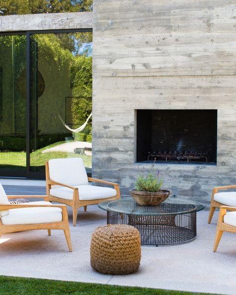 Modern Patio Furniture best 25+ modern outdoor fireplace ideas on pinterest | modern