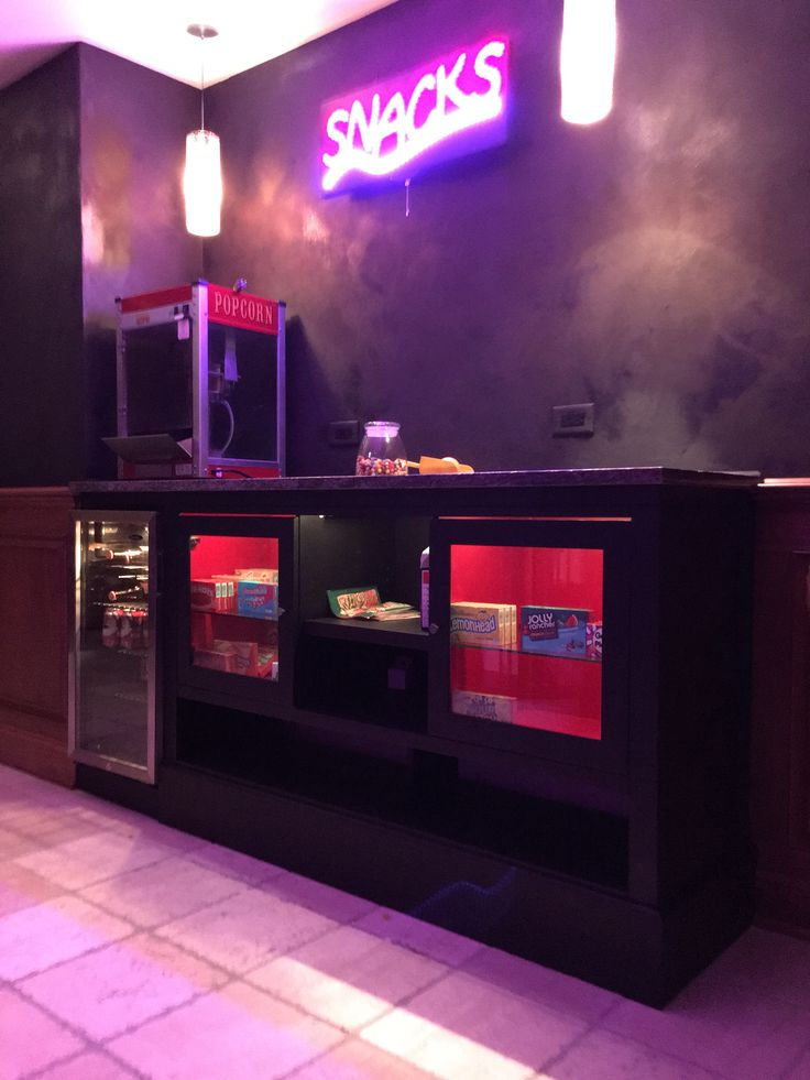Concession Stand For Home Theater Theatre Pinterest