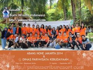 Abang None Jakarta 2014 at Pulau Seribu | Thousand Islands. #pulauseribu #event #thousandislands #abnon