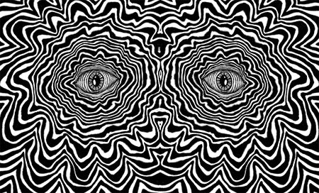 18 Awesome trippy eyes gif images