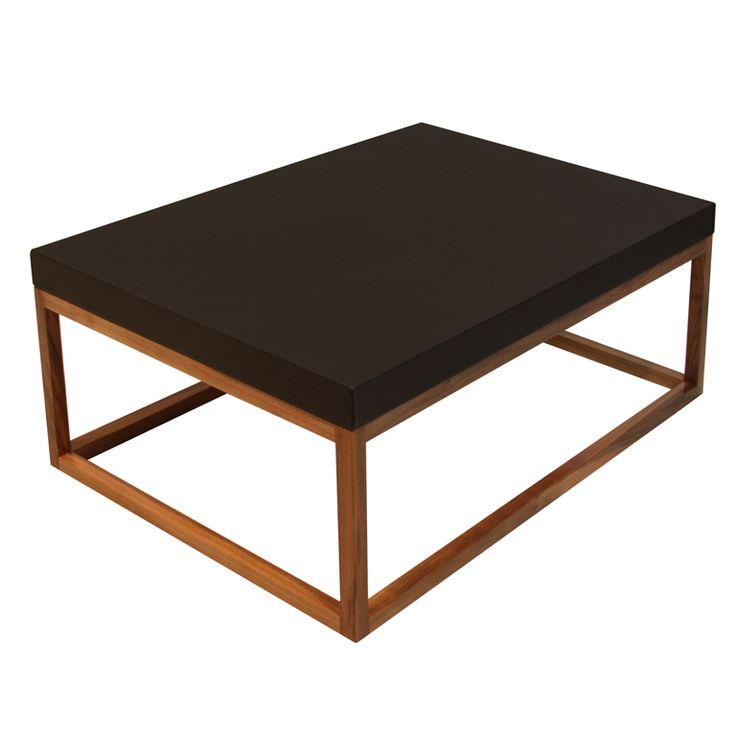 The Basic Leather Coffee Table By Thomas Hayes Studio