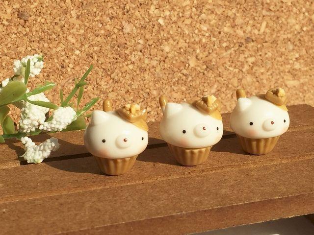 X にゃんこ カップケーキ キャラメルナッツ 味 ミニチュア フード