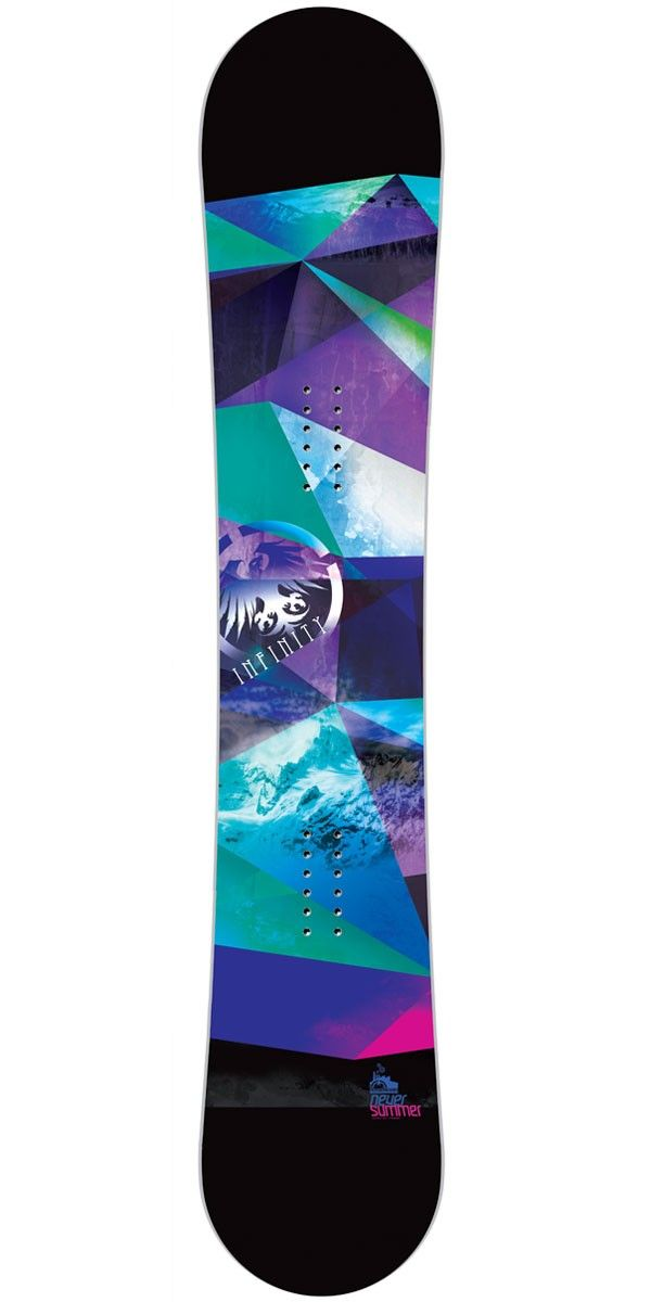 Never Summer Infinity Women's Snowboard 2015