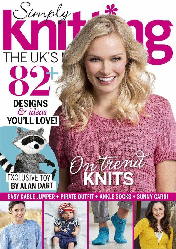Simply Knitting Issue 133 2015 - 轻描淡写 - 轻描淡写