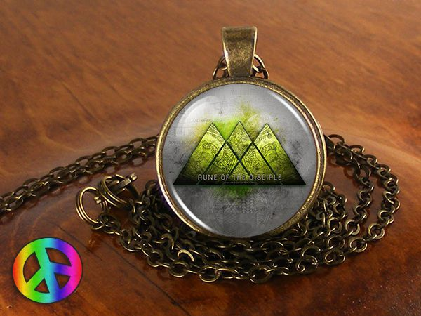 Destiny Warlock Video Game Cosplay PS4 XBox 360 Necklace Pendant Jewelry Gift