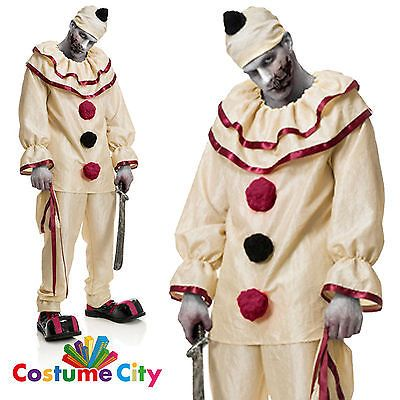 Adult mens halloween horror #clown carnival circus fancy dress #twisty #costume,  View more on the LINK: http://www.zeppy.io/product/gb/2/272017345527/