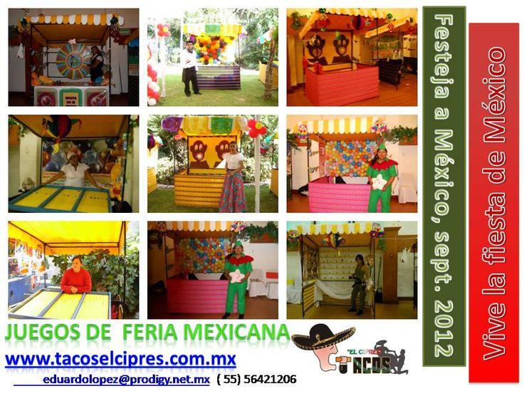 Juegos De Ferias Para Animar La Fiesta Mexicana Ecxelente Idea A