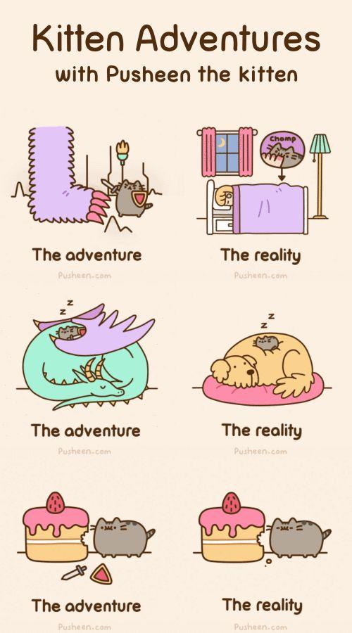 Kitten Adventures with Pusheen the Kitten