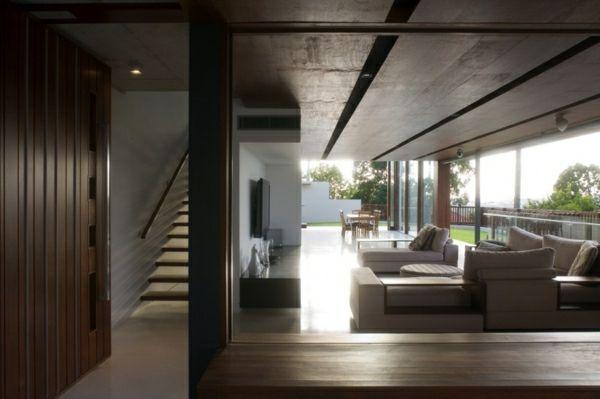 Architektur » Neubau Haus mit minimalistischer Architektur - charmantes appartement design singapur