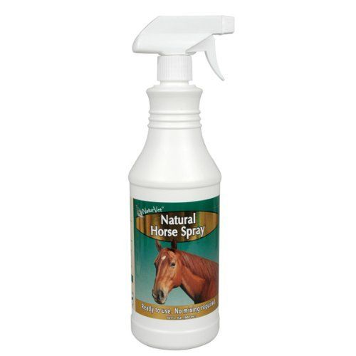 Naturvet Natural Horse RTU Fly Spray by NaturVet. $10.99. Great for owners who want to protect their horse and the environment.. Use daily or as needed.. Safe and effective.. The water-based formula will not sting open wounds or pre-existing insect bites.. Will not damage or stain clothing or tack.. Naturvet Natural Horse Fly Spray Concentrate Naturvet Natural Horse Fly Spray Concentrate is pesticide, chemical, and alcohol free. Economical, easy-to-use water-based formula i...