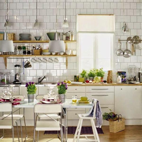 Cocinas: todo a la vista.