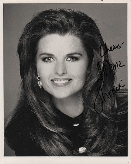 Framed Maria Shriver Autograph Hand Signed Photo - Kennedy Schwarzenegger COA