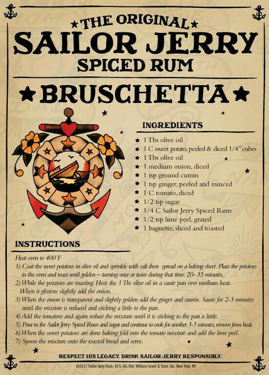 how to drink spiced rum
